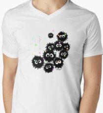 Soot Sprites Mens V-Neck T-Shirt