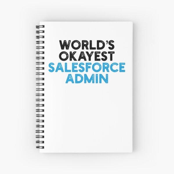 El administrador de Salesforce más aceptable del mundo Cuaderno de espiral