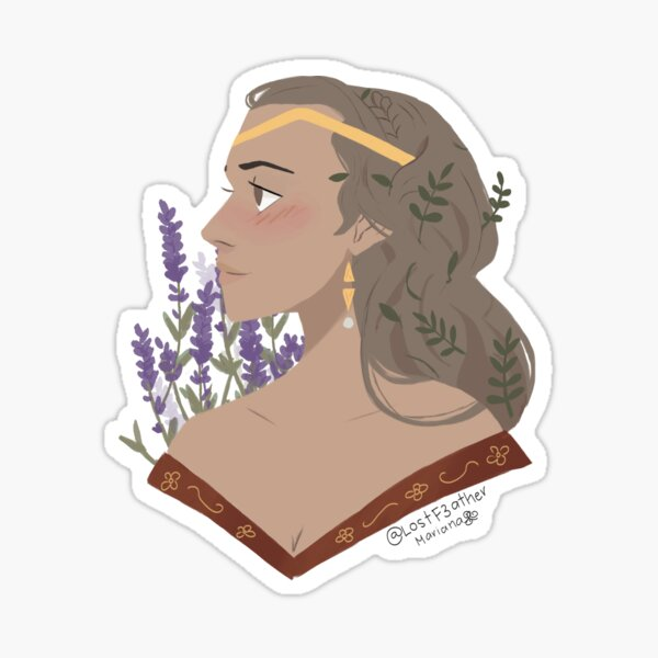 Once and future Queen! Sticker