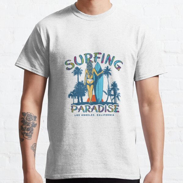 Surfing Paradise Los Angeles Classic T-Shirt