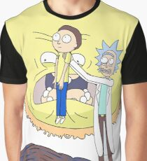 Morty to the Sun Graphic T-Shirt