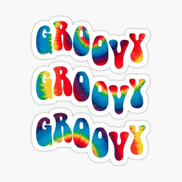Groovy Waves Sticker