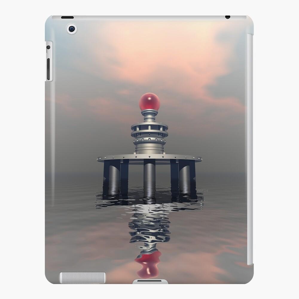 Mysterious Metallic Structure iPad Case & Skin