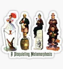 A Disquieting Metamorphosis Sticker