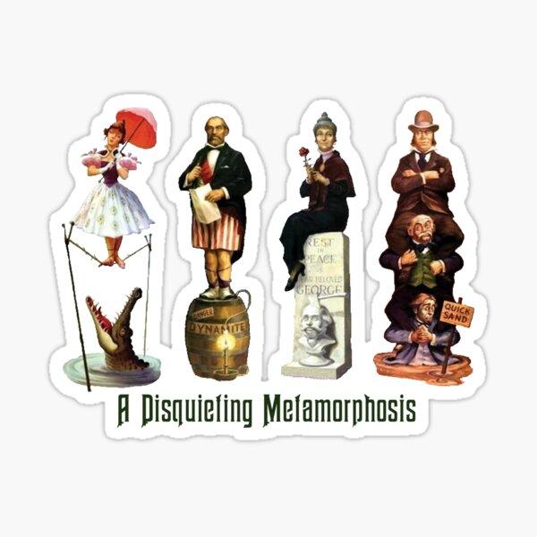 A Disquieting Metamorphosis Sticker