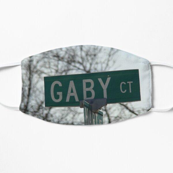 Gaby, Gaby mask, Gaby mug, Gaby sticker, Gaby magnet  Flat Mask