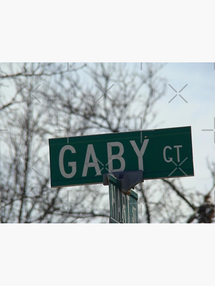 Gaby, Gaby mask, Gaby mug, Gaby sticker, Gaby magnet  by PicsByMi