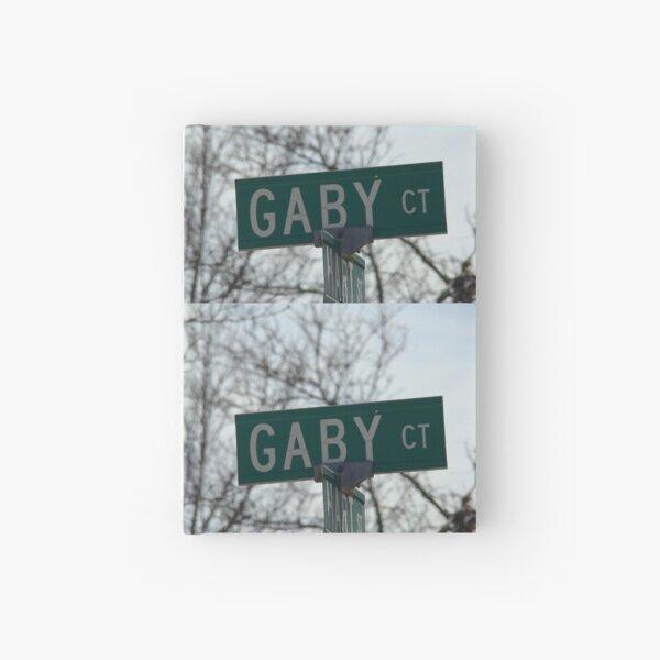 Gaby, Gaby mask, Gaby mug, Gaby sticker, Gaby magnet  Hardcover Journal