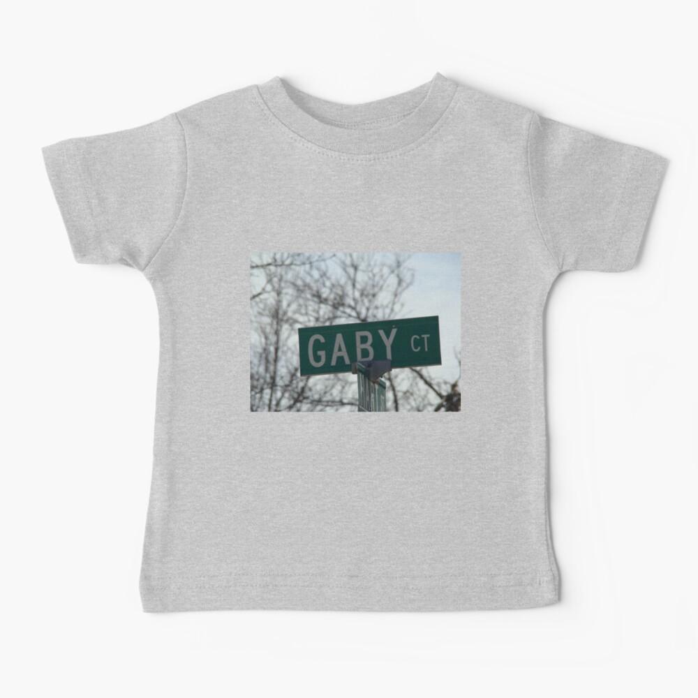 Gaby, Gaby mask, Gaby mug, Gaby sticker, Gaby magnet  Baby T-Shirt