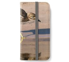 Water Thick-knee iPhone Wallet/Case/Skin