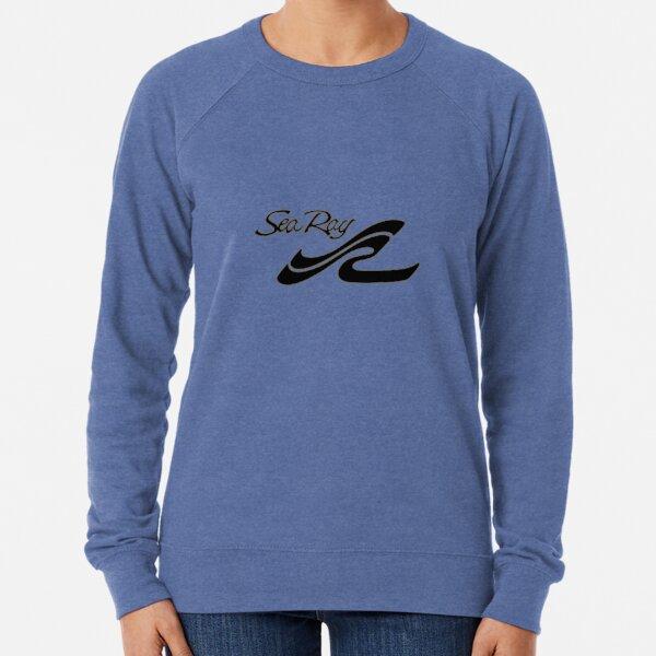 Sea Ray Boat Black Logo Lightweight Sweatshirt