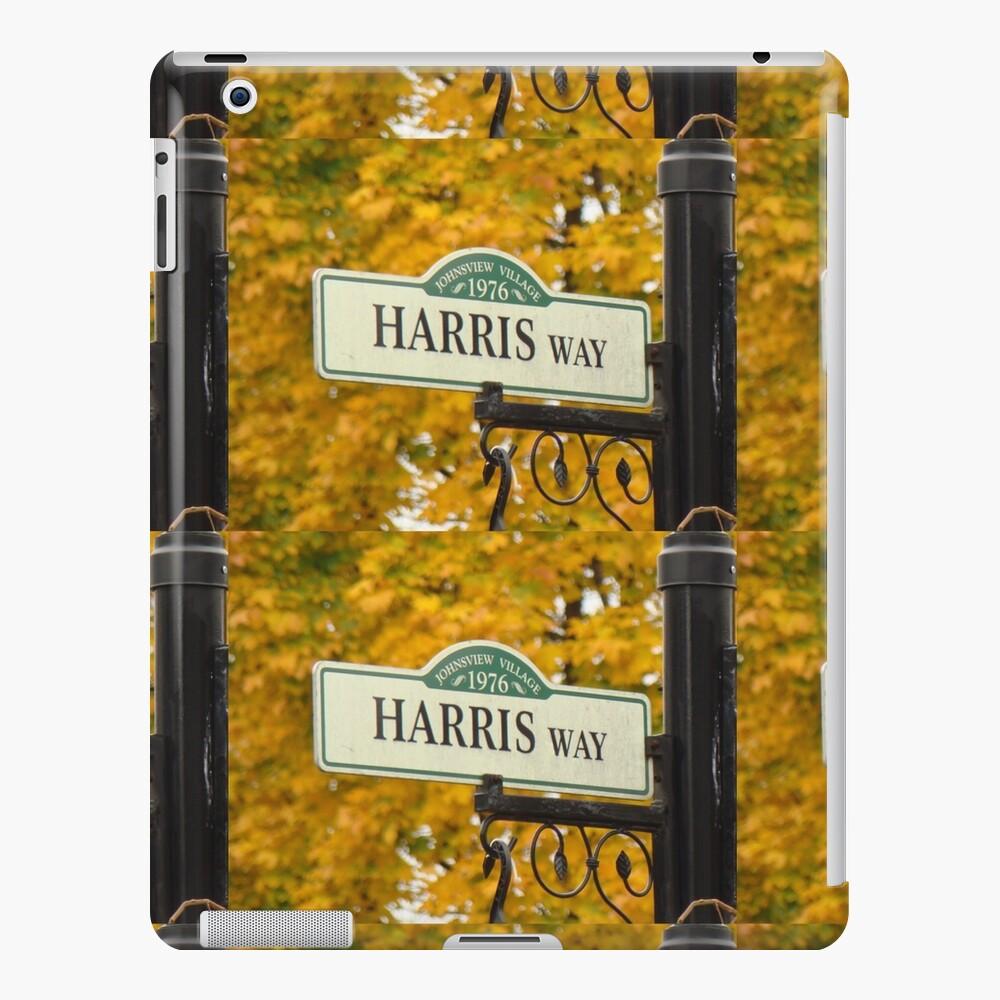 Harris, Harris sticker, Harris magnet, Harris mug, Harris mask iPad Case & Skin