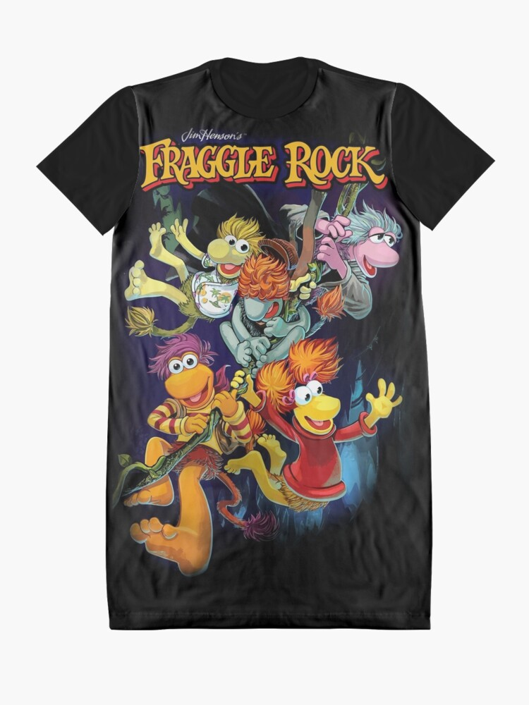 Alternative Ansicht von Fraggle-Felsen T-Shirt Kleid