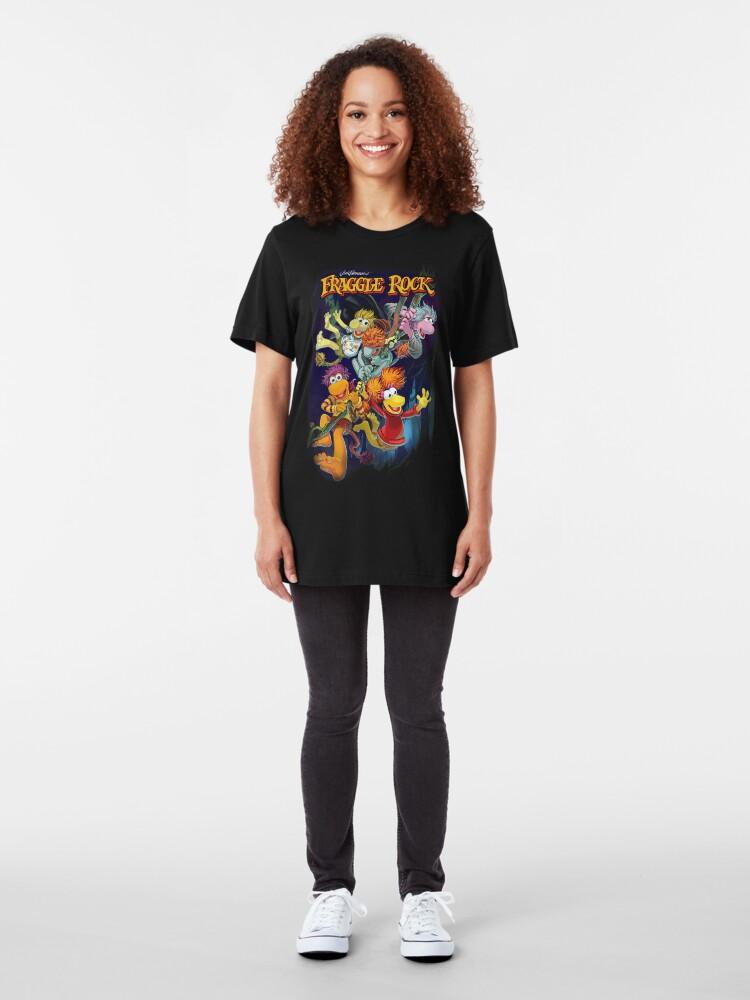 Alternative Ansicht von Fraggle-Felsen Slim Fit T-Shirt