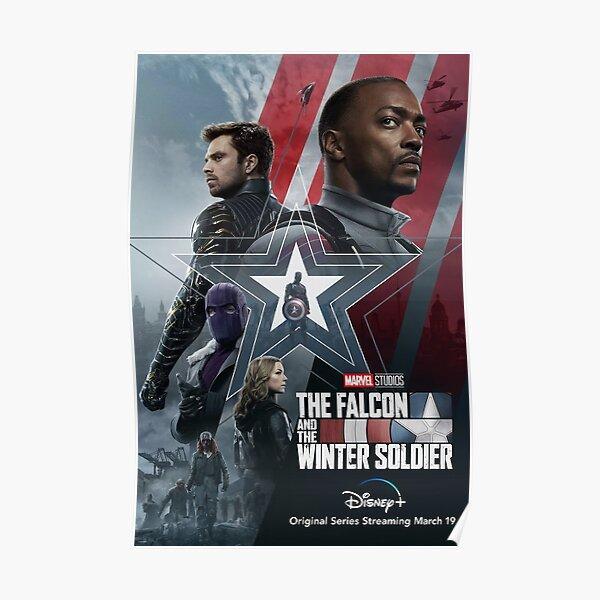 Le faucon et le soldat d'hiver Poster