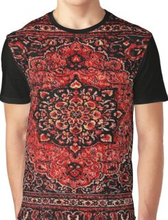 Persian carpet look in rose Graphic T-Shirt