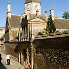 Gonville & Caius College Cambridge by Kawka