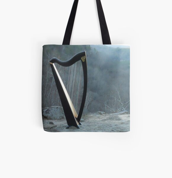 Majestic Harp All Over Print Tote Bag