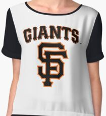 San Francisco Giants  Women's Chiffon Top