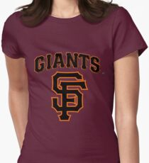 San Francisco Giants  Womens Fitted T-Shirt