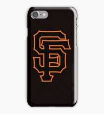 San Francisco Giants logo iPhone Case/Skin