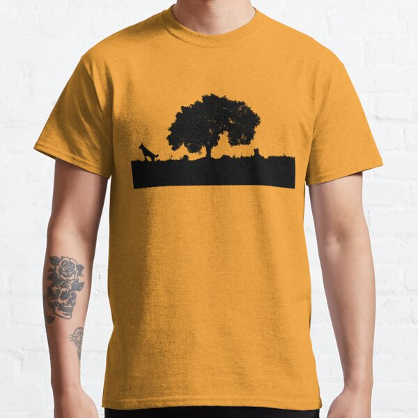 Molly and Timmy and a big old cork tree Classic T-Shirt