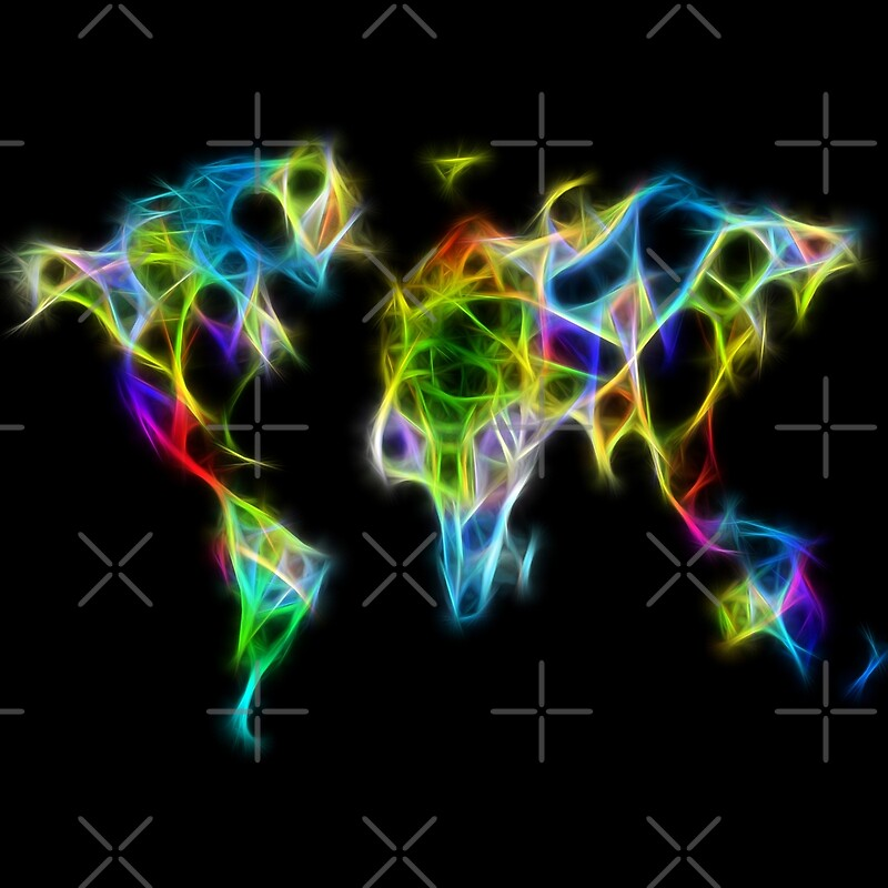 World map posters by haroulita redbubble world map by haroulita gumiabroncs Gallery