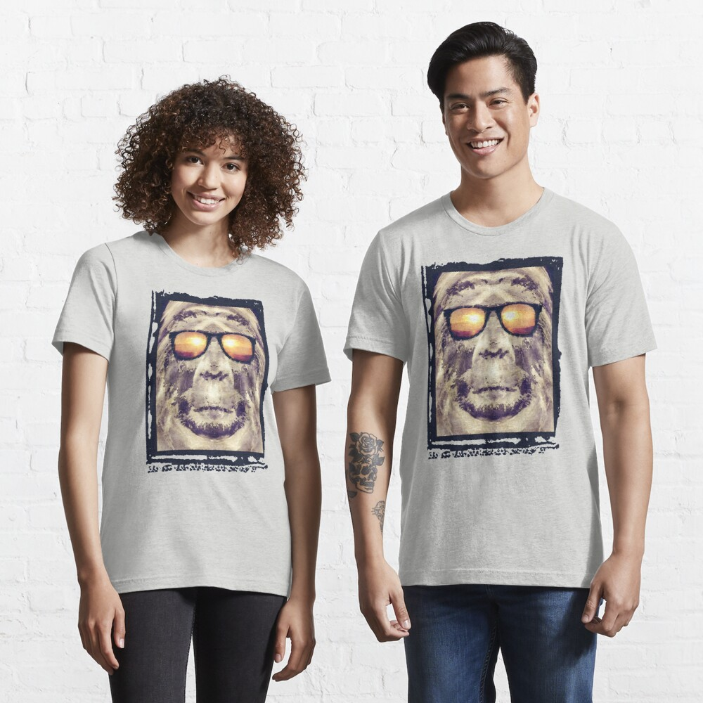 Bigfoot In Shades Essential T-Shirt