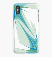Tender touch. Abstract design iPhone Case/Skin
