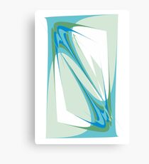 Tender touch. Abstract design Canvas Print