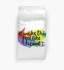 Home .queer Duvet Cover