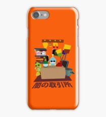 Chao Black Market iPhone Case/Skin