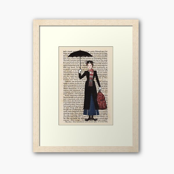 Mary Poppins Framed Art Print