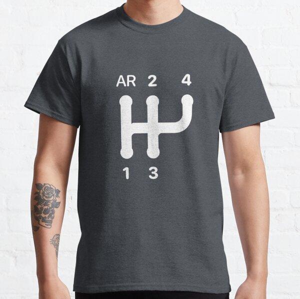 Schéma de changement de vitesse 2CV T-shirt classique
