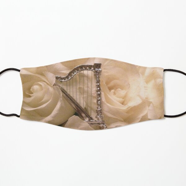 Italian Harp with Roses Kids Mask