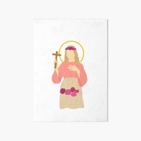 Saint Rose of Viterbo  Art Board Print