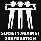 Society Against Dehydration (White) by MrFaulbaum