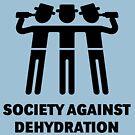 Society Against Dehydration (Black) by MrFaulbaum