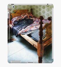 Long Sleeved Dress on Bed iPad Case/Skin