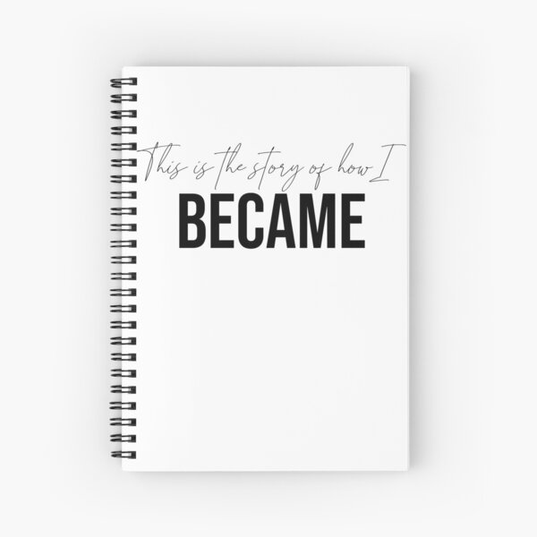 This is the story of how I became Design Spiral Notebook