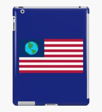 Futurama Earthican Flag iPad Case/Skin