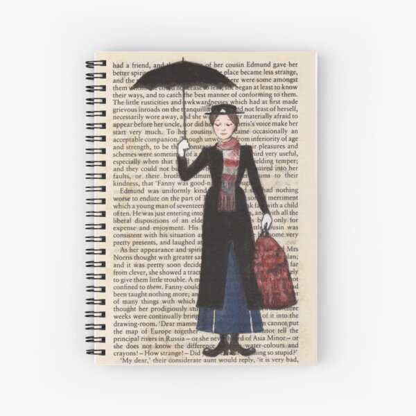 Mary Poppins Spiralblock