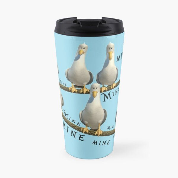Mine! Seagulls from Finding Nemo Travel Mug
