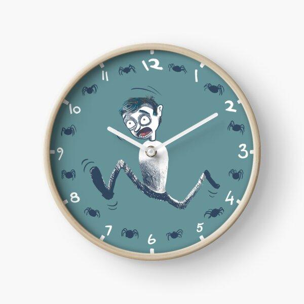 Spider panic Clock