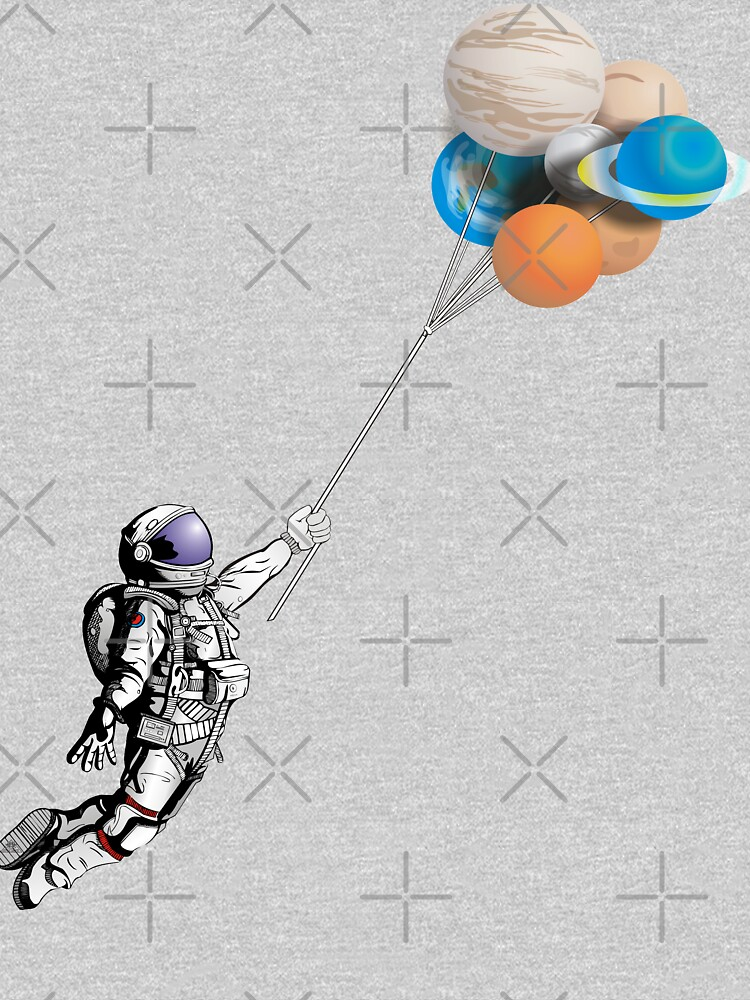 Astronaut with balloons by SoulSafe