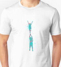 Cheer - Splatter Holly Unisex T-Shirt