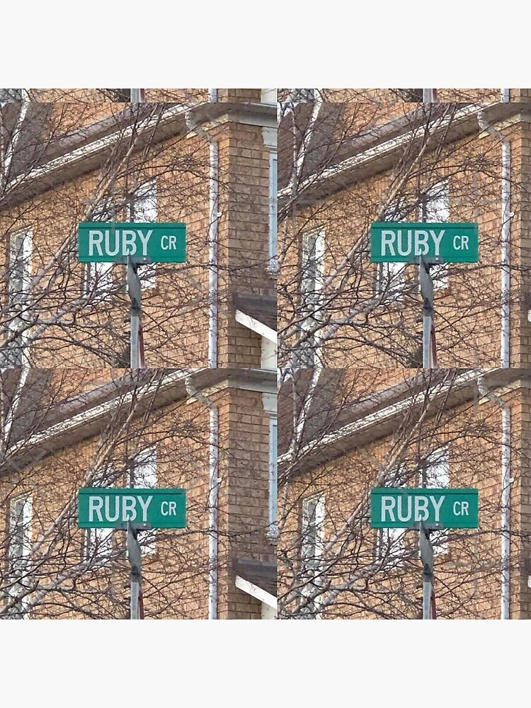 Ruby, Ruby mug, Ruby magnet, Ruby sticker, Ruby travel mug, Ruby  by PicsByMi