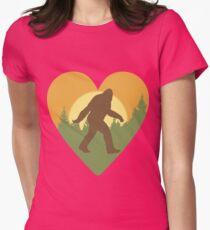 Bigfoot Heart T-Shirt
