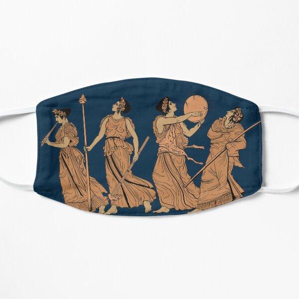 Dancing Maenads Flat Mask