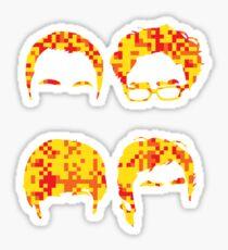 Big Four Design Sticker